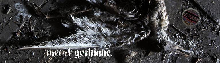 Bannière de la chronique Metal Gothique - alternative deux